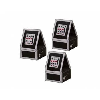 10 Boîtes à dragées Machine à sous