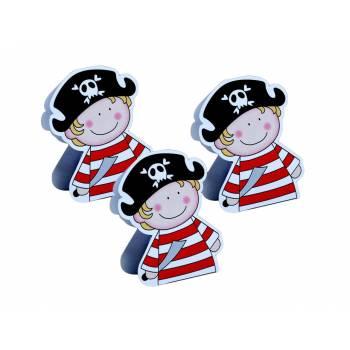 10 Boîtes à dragées pirate