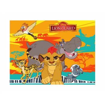 Décor sur sucre Le Roi Lion A4