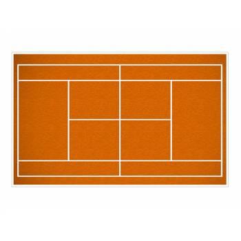 Décor sur sucre terrain de tennis A3