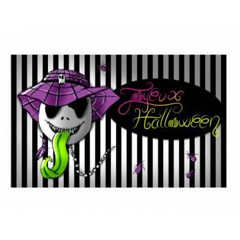 Décor sur sucre Squelette d'Halloween A3