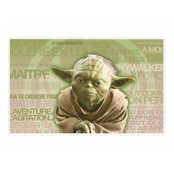 Décor sur sucre Maitre Yoda A3