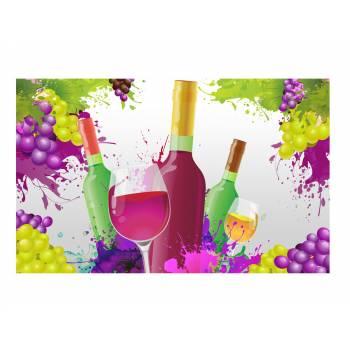 Décor sur sucre vin A3