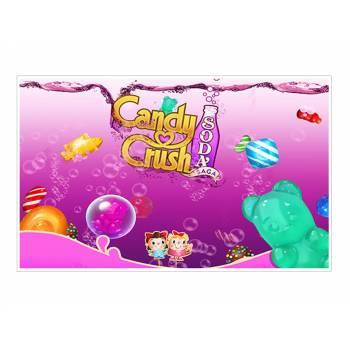 Décor sur sucre Décor Candy Crush A3