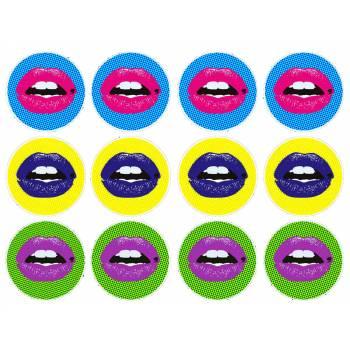 12 Mini décors sur sucre pop art