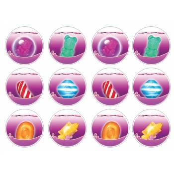 12 Mini décors sur sucre Candy Crush