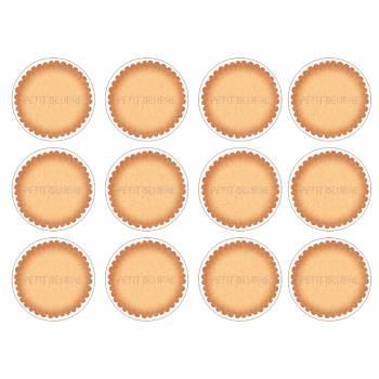 12 Mini décors sur sucre petit beurre