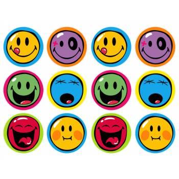 12 Mini décors sur sucre Smiley