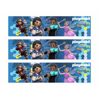 Lot 3 Bandes en sucre Playmobil