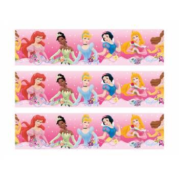 3 Bandes de gâteaux sucre décor princesses Family