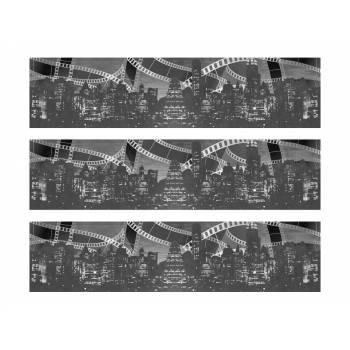 3 Bandes de gâteaux sucre décor cinema 1930