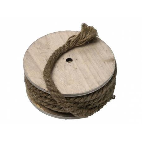 Bobine de corde marin idéal pour vos soirées, mariages, ou anniversaire sur le thème de la Mer C'est de la grosse corde pour la...