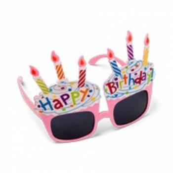 Lunette gâteau Happy Birthday