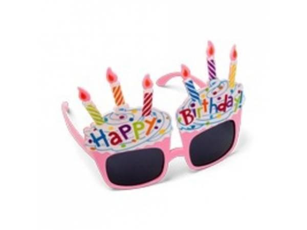 b1def36c58174b Lunettes délire cupcakes happy birthday   Thema Deco, achat de déguisement  et accessoires de fête.