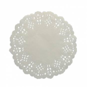 10 Mini dentelles blanches 11cm