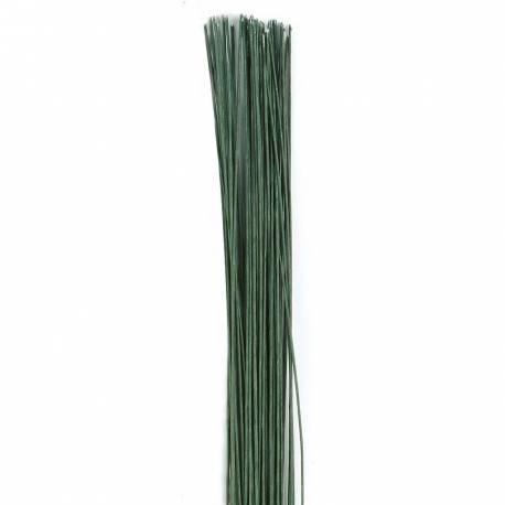 Tige a fleur en fer d'une longeur de 36 cm - Paquet de 20 tiges