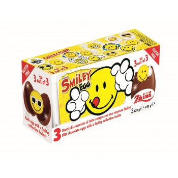 Oeufs en chocolat surprises Smiley
