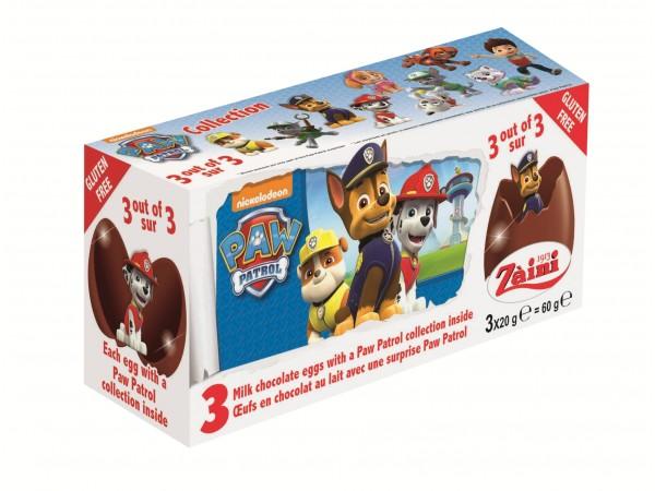 Oeufs en chocolat surprises Pat Patrouille