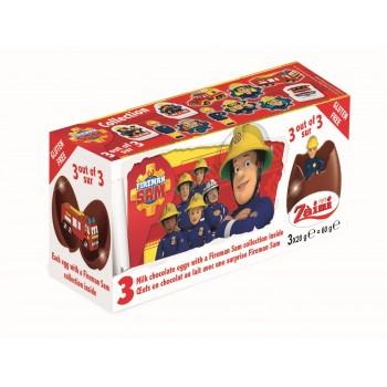 Oeufs en chocolat surprises Sam le pompier