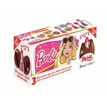 Oeufs en chocolat surprises Barbie