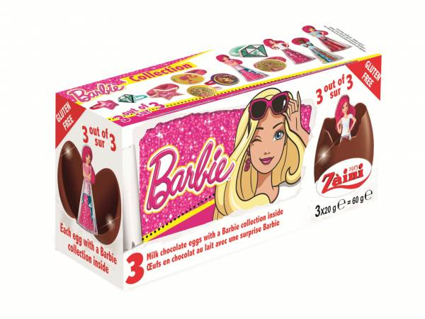 ?ufs en chocolat surprises Barbie- bonbons anniversaire