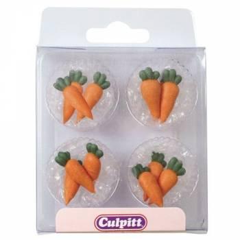 Boîte 12 Mini carottes en sucre