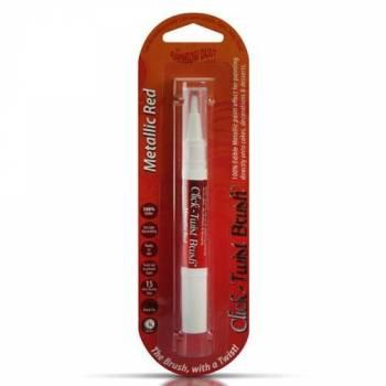 Pinceau Click-Twist Brush® Rouge métallisé