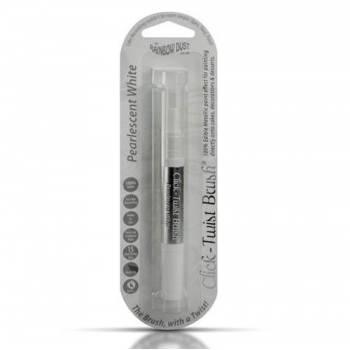 Pinceau Click-Twist Brush® blanc perle métallisé