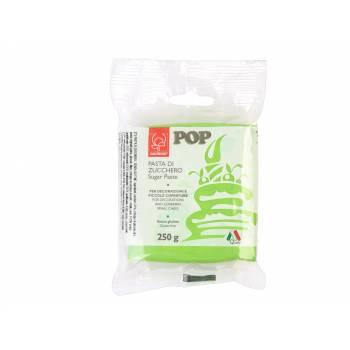 Pâte à sucre vert gazon POP 250gr