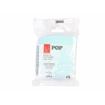 Pâte à sucre bleu ciel POP 250gr