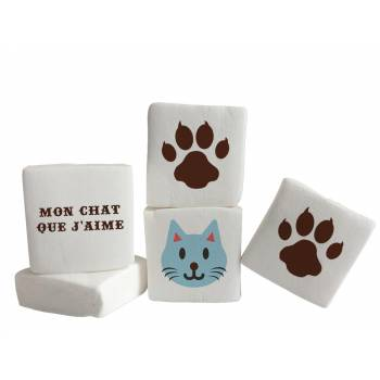Guimize Giant décor Chat texte
