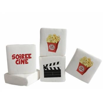 Guimize Giant décor Popcorn texte