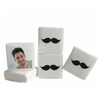 Guimize Giant décor moustache photo