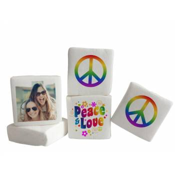 Guimize Giant décor Peace and Love photo