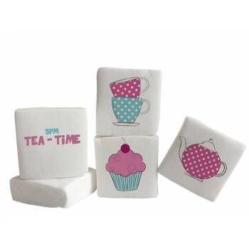 Guimize Giant décor Tea time texte