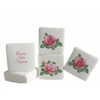 Guimize Giant décor Roses Vintages texte