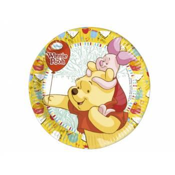 8 assiettes Winnie l'ourson