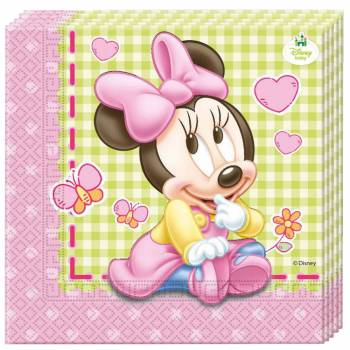 20 serviettes Baby Minnie