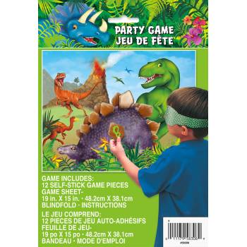 Jeux dinosaure 12pers