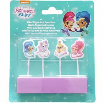 Set de 4 bougies Shimmer et Shine