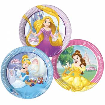 Assiettes Disney princesses Mix