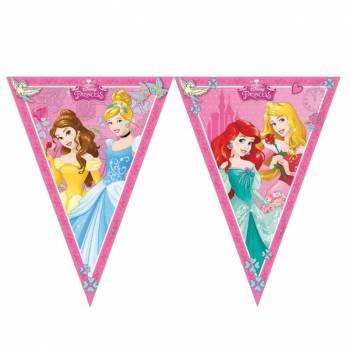 Guirlande 9 fanions Mes Princesses Disney