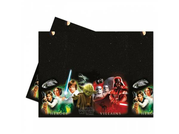 nappe star wars h ros deco anniversaire. Black Bedroom Furniture Sets. Home Design Ideas