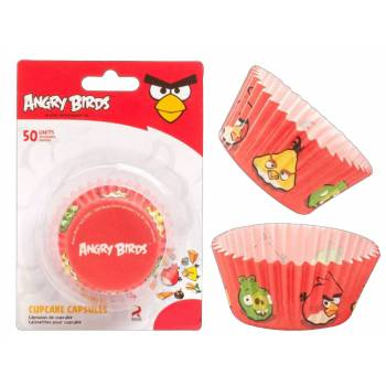 50 caissettes Angry Birds