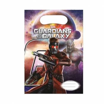 6 Sachets Les gardiens de la galaxie