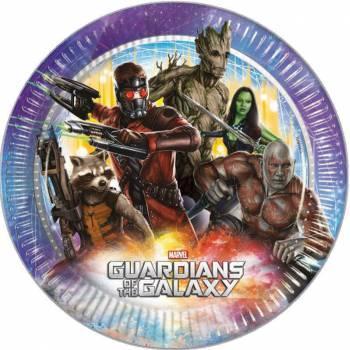 8 Assiettes Les gardiens de la galaxie