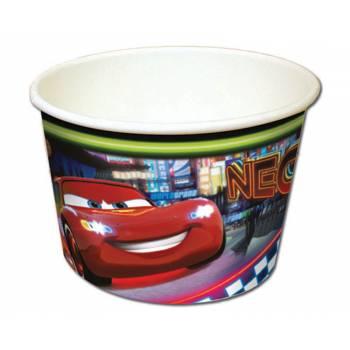 8 Pots à glace Cars néon