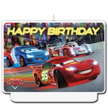Bougie Happy Birthday Cars Flash McQueen