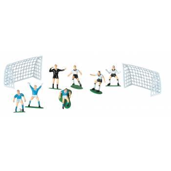 2 Cages + joueurs de foot en plastique