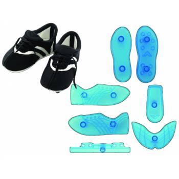 Kit 7 emporte pièces chaussure de foot